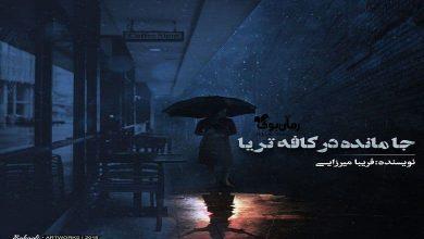Photo of رمان جا مانده در کافه تریا فریبا میرزایی