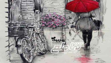 تصویر از رمان تقاطع بهاره حسنی