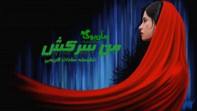 تصویر از رمان من سرکش شایسته سادات کریمی